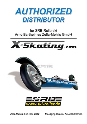 Authorized Roller ski distributor SRB Rollski