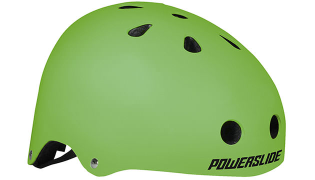 Accessories for Nordic Skating Safety gear Nordic Skating Helmet Allround Green by Powerslide