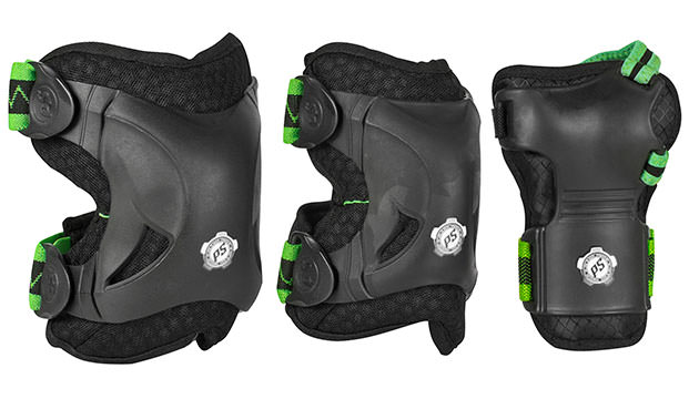 "Accessories for Nordic Skating Safety gear Knee and Ellbow Protection Set ""Phuzion"" by Powerslide"