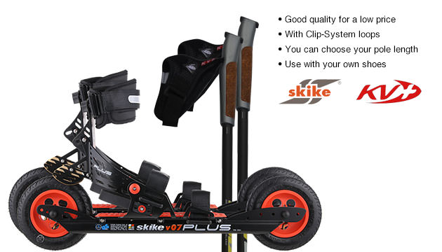 RollDichFit RollDichFit-Set with Skike V07 PLUS/KV+ Advance Poles