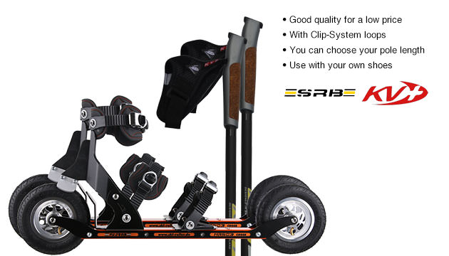 Nordic Cross Skates SRB XRS03 SRB XRS03 Set with KV+ Advance Poles