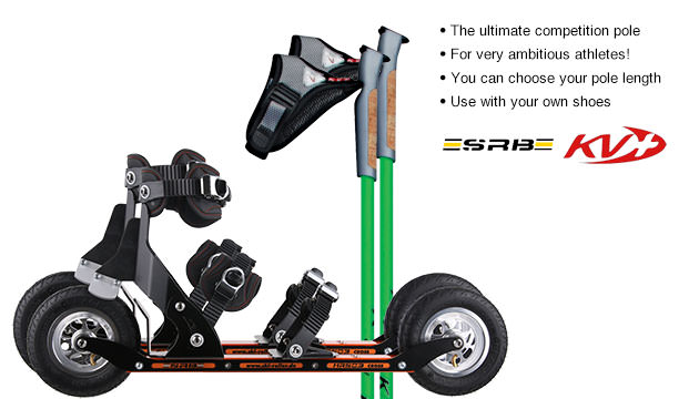 Nordic Cross Skates SRB XRS03 SRB XRS03 Set with KV+ CH-1 Poles