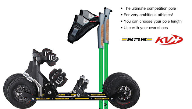 Nordic Cross Skates SRB XRS06 SRB XRS06 Set with KV+ CH-1 Poles
