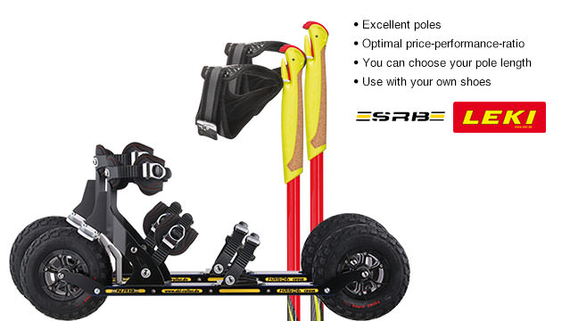Nordic Cross Skates SRB XRS06 SRB XRS06 Set with LEKI Genius Carbon Poles