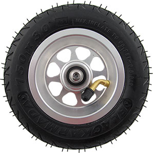 Complete Wheel SRB with Aluminum rim